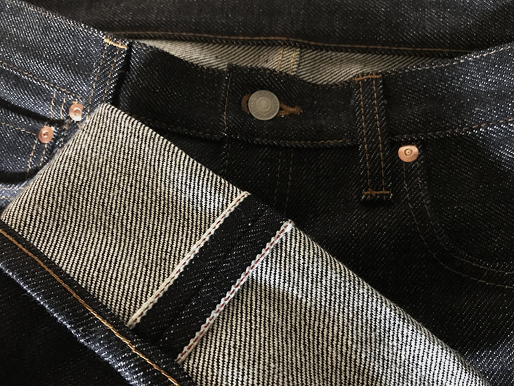 21 OZ Heavy Raw Selvedge